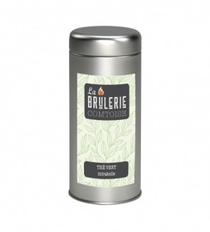 Thé vert mirabelle - 100g